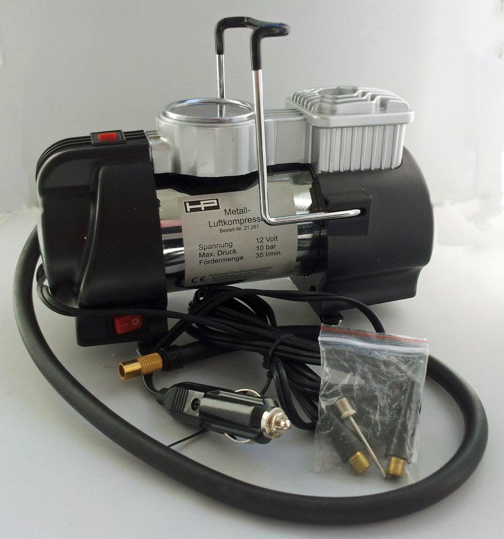 hp autozubeh r metall luftkompressor led 10 bar. Black Bedroom Furniture Sets. Home Design Ideas