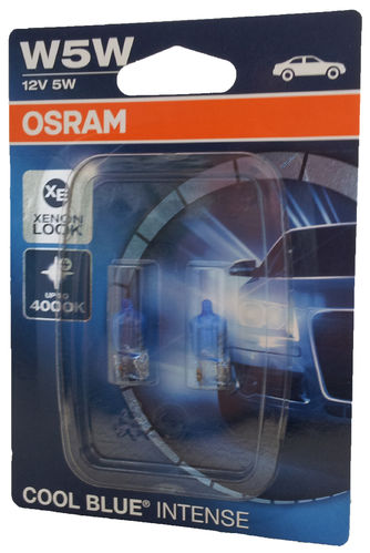 W5W OSRAM Cool Blue INTENSE