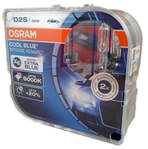 D2S OSRAM Cool Blue Intense 66240CBI-HCB