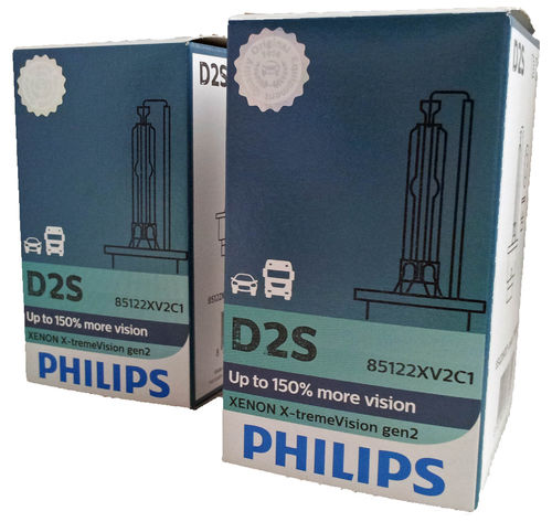 D2S PHILIPS X-treme Vision 85122XV2C1