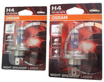 H4 OSRAM Night Breaker LASER +130% 2er