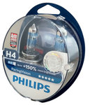 H4 PHILIPS Racing Vision +150 12342RVS2