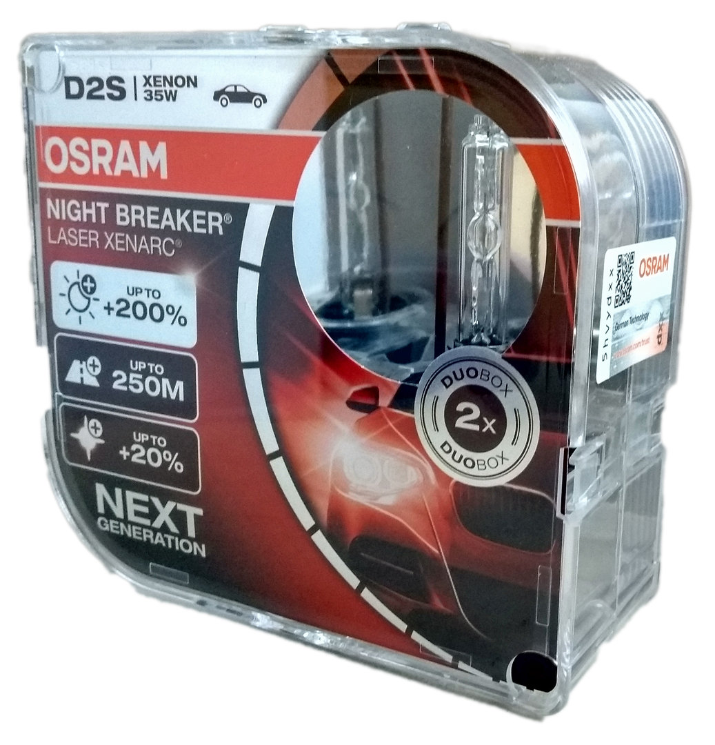 d2s osram nightbreaker laser xenarc box meiertrade shop. Black Bedroom Furniture Sets. Home Design Ideas